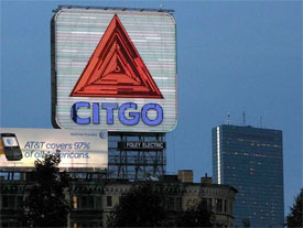 Citgo Sign Boston at night