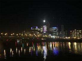 Fan Pier in Boston across the water