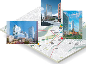 proposed developments at Boston train stations