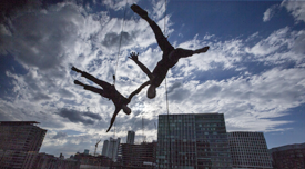 Air Jumpers in Boston Seaport