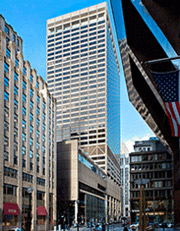 Financial district office building at 1 Federal st.