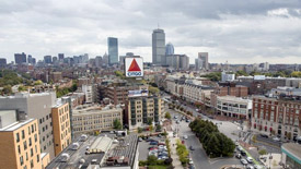 Fenway office buildings in Boston