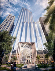 Rendering of winthrop square office building