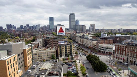 Office buildings in Fenway