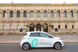 NuTonomy self-driving cars in Boston