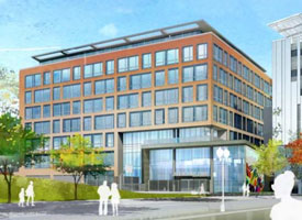 Proposed South Boston office building