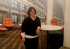Mary Landucci Social Manager at 451 D Street in Boston's Seaport