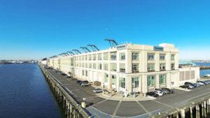 Seaport office building on Black Falcon