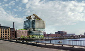 GE's seaport HQ, Innovation point