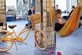 Open office space for startups